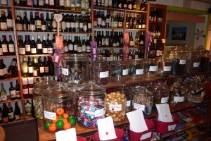 candy for kids, liquid sweets (and dry wines) for adults