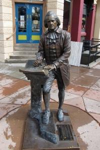 Jefferson, the best writer among our presidents. Better than John Hancock.