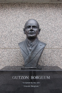 Borglum's head at the monument is not 60 feet tall.