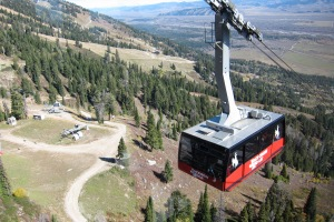 The tram to the top