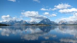 Jackson Lake again. Even prettier than the last time.