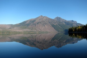 McDonald Lake in the morning