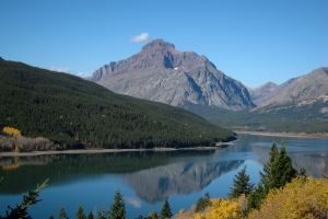 East Glacier National Park, Lake