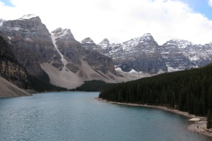 "Lake Moraine, form the ""Rock Pile"""