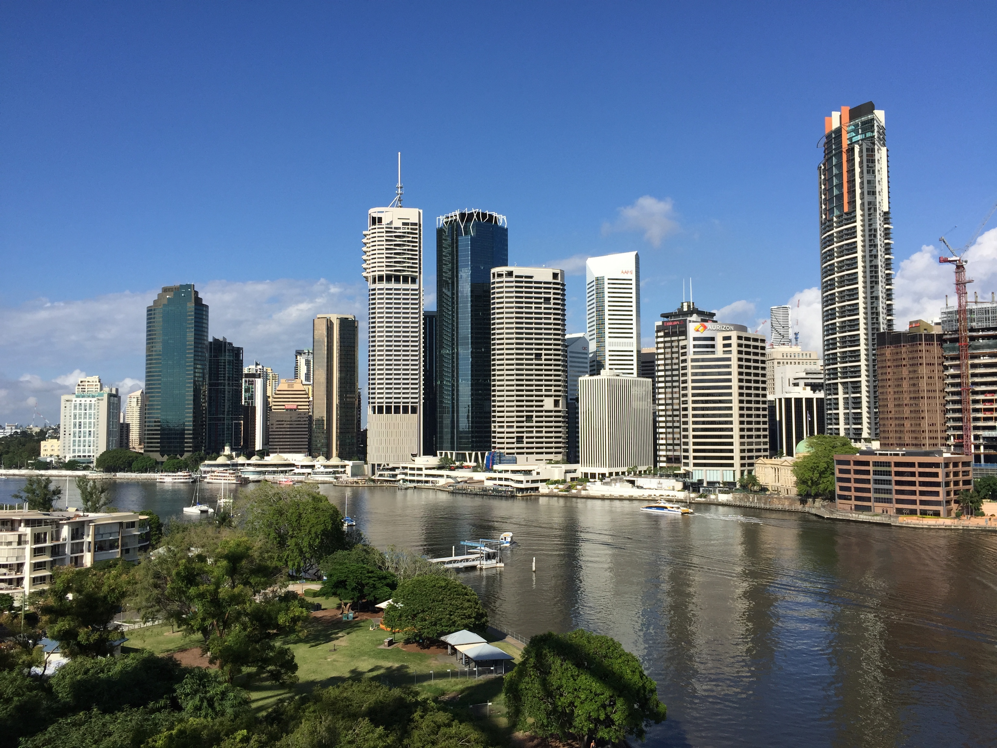 Brisbane (Visiting my boss!) - February 2015   Finger ...