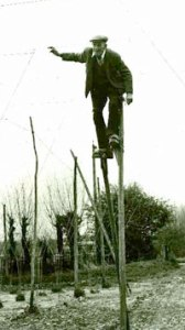 man-on-stilts