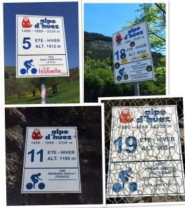 Huez signs
